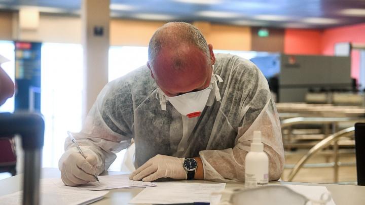 В Свердловской области подтвердились 108 новых случаев коронавируса