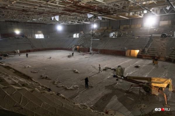 В центральном зале могут проводить и соревнования, и концерты