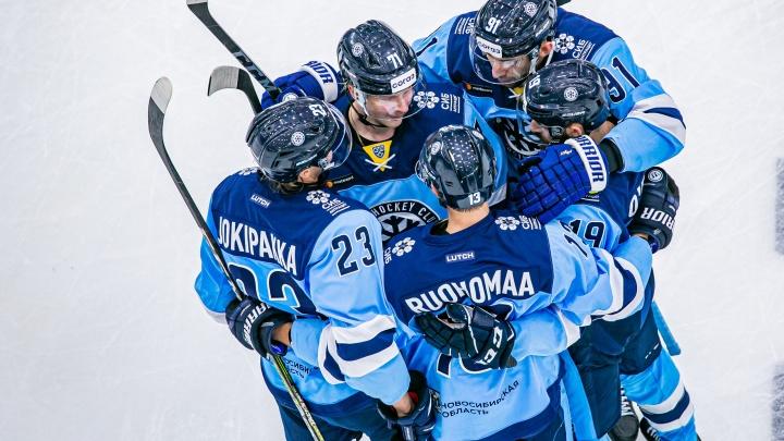 «Сибирь» одержала победу над рижским «Динамо»