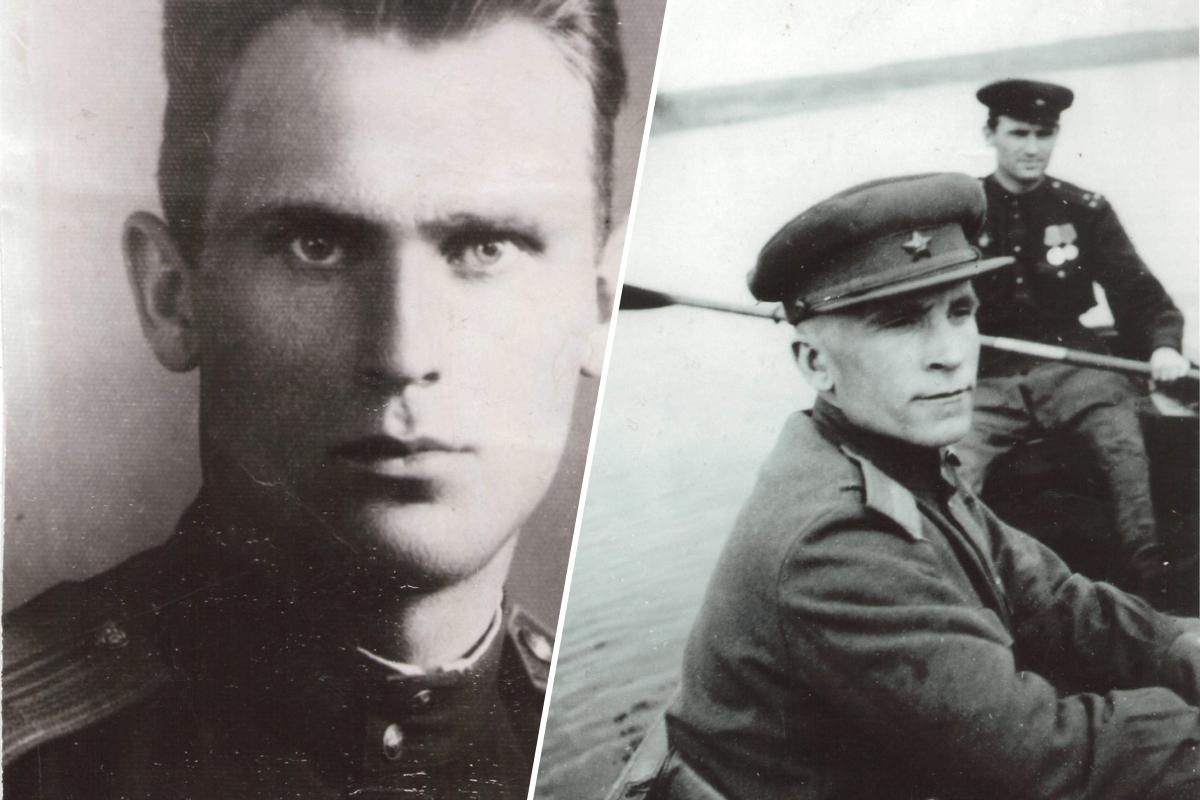 Фото справа было сделано в Потсдаме 9 мая 1945 года