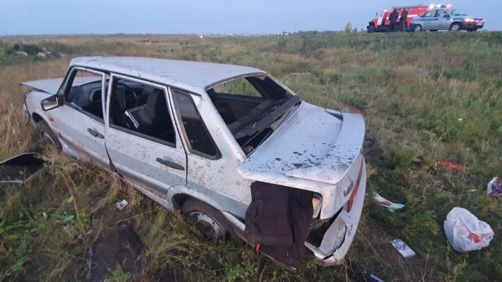 На Южном Урале водитель ВАЗа устроил аварию, в которой погибла 19-летняя девушка