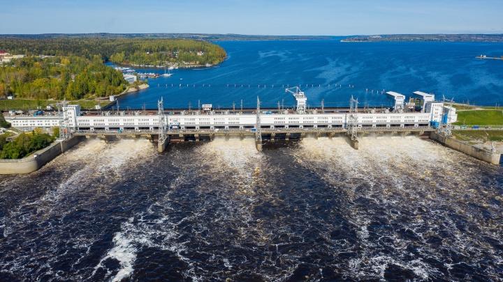 Выработка Камской ГЭС за первое полугодие увеличилась на 20%