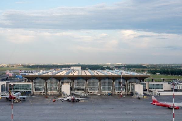 Из аэропорта Пулково пассажирку доставили в полицию