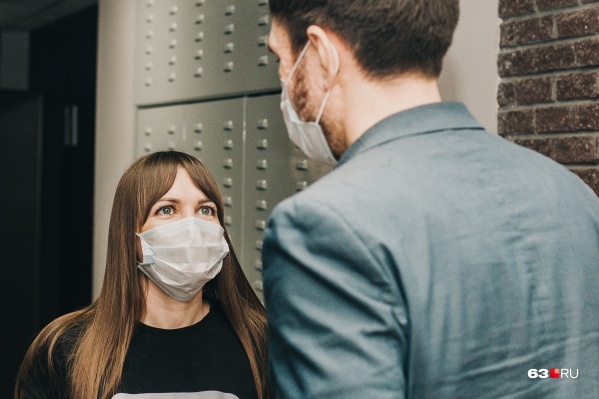 Жители должны носить маски в общественных местах