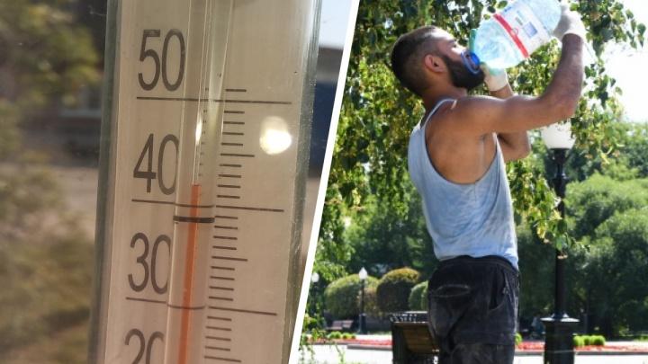 На солнце все +50 °C: екатеринбуржцы показали адское пекло в своих машинах и домах