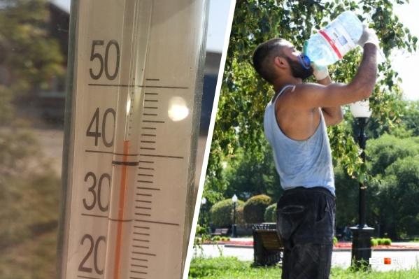 Свердловчане изнывают от жары, пришедшей из Казахстана