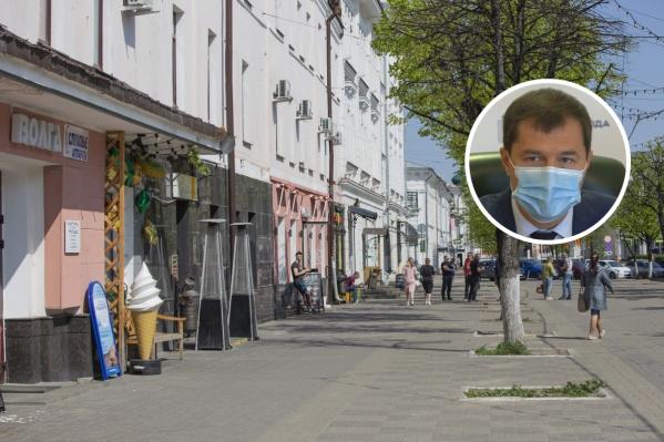 Мэр попросил предпринимателей Ярославля подождать с открытием кафе