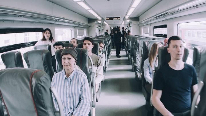 «Поезд жизни»: в пермской «Ласточке» сняли короткометражку про перерождение душ