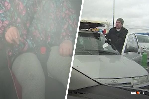 Очевидец вмешался в сцену избиения отцом дочери<br>