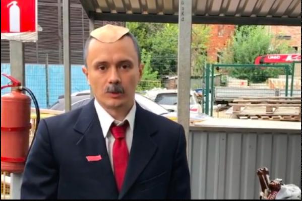 Соболев в образе Лукашенко