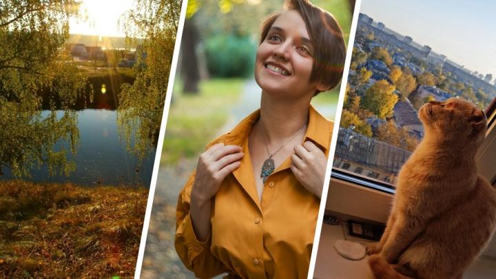 Осень — золотая пора: лучшие кадры уходящего времени года от читателей E1.RU