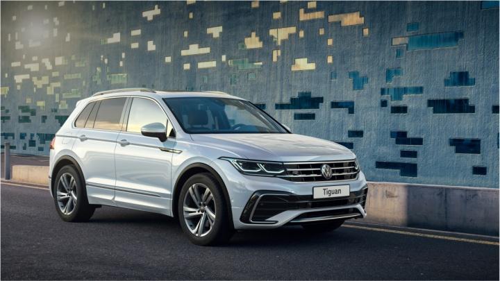 Volkswagen представил новый Tiguan в России