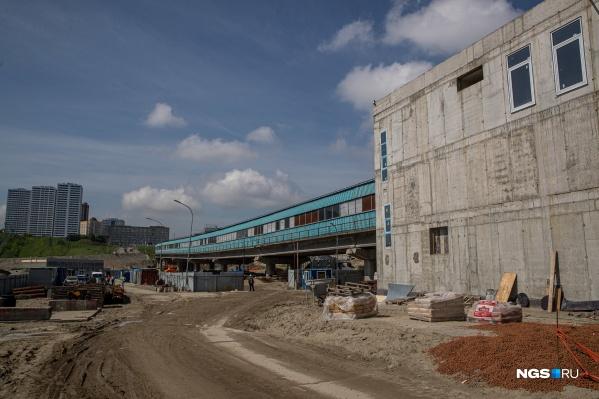 Ожидается, что станцию сдадут в срок — к 2022 году
