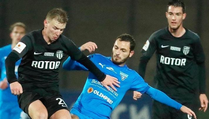 Пропустили два гола за две минуты: московский «Велес» уничтожил волгоградский «Ротор» в Домодедово