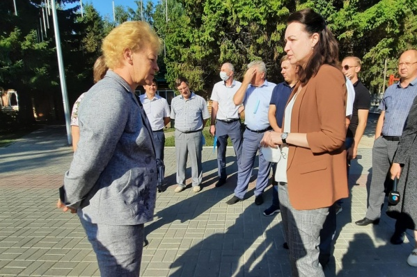 Мэр и спикер Горсовета  совершили рабочий объезд в Советском административном округе