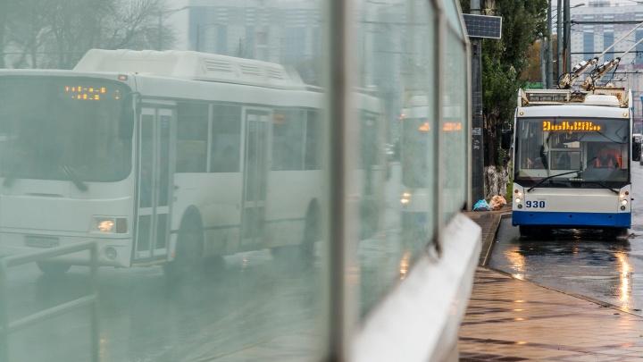 В Тольятти кондукторов троллейбусов не пустили на работу
