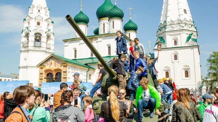 Парад Победы, танцы и салют: полная программа 9 Мая в Ярославле