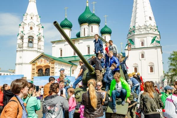 В День Победы в Ярославле много событий устраивают в музеях