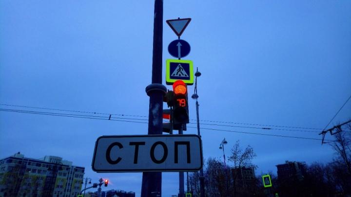 Городские власти запретили левый поворот с Репина на Татищева