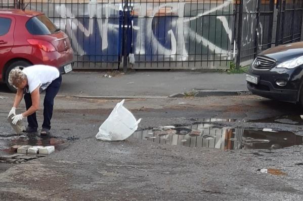 За самовольный ремонт дороги грозит штраф до 40 тысяч рублей