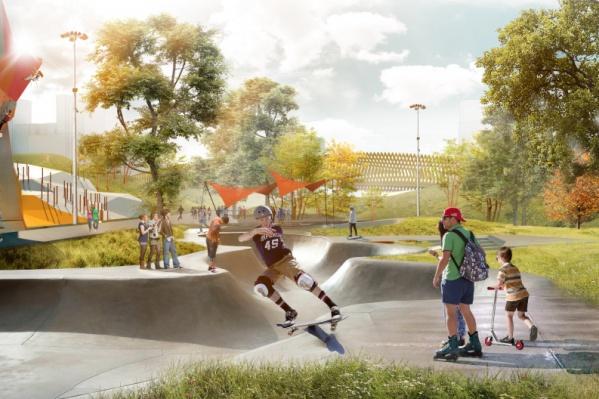 Концепция Преображенского парка в Академическом победила в голосовании Минстроя