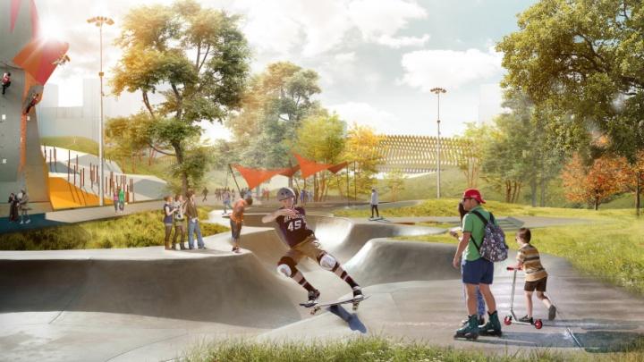 Минстрой выбрал парк в Екатеринбурге, который начнут благоустраивать в следующем году