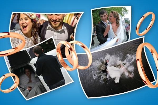 НГС собрал самые громкие, дорогие и интересные свадьбы в истории города