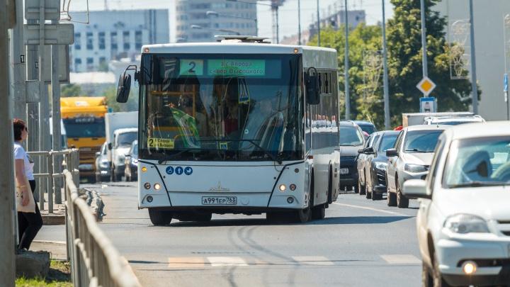 «Автобус перевозит столько же людей, сколько 155 машин»: эколог призвал самарцев выбирать общественный транспорт