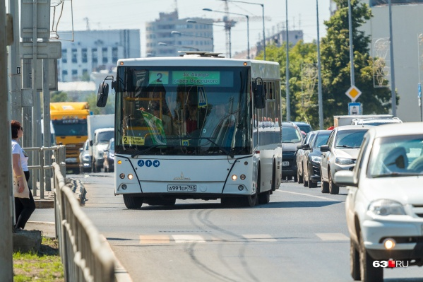 Автомобилисты в Самаре пока не готовы пересесть на общественный транспорт