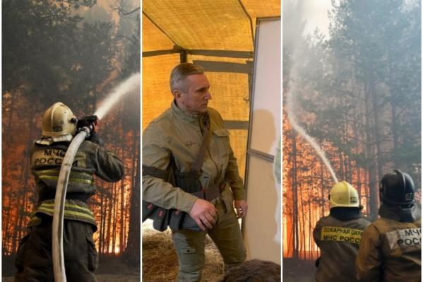 Пожары в тюменских лесах могут ударить по рейтингу губернатора Моора