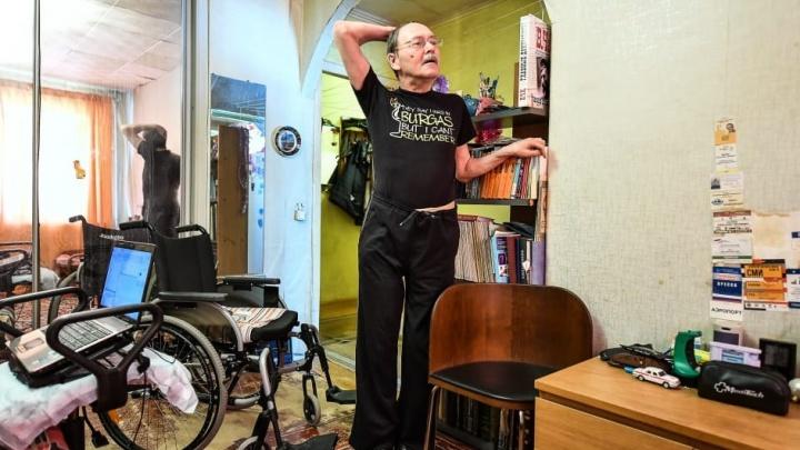 «В головах господствуют догмы СССР»: журналист в коляске – об агрессии между людьми