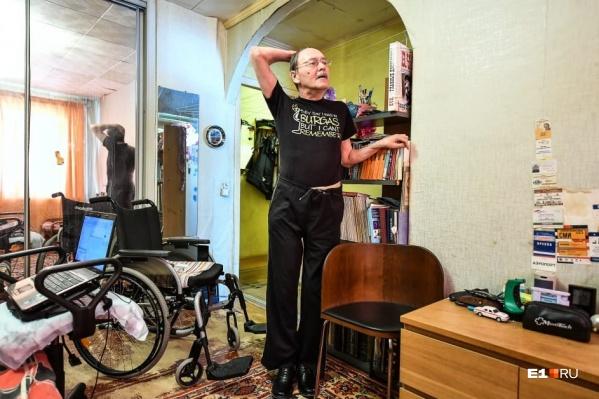 Александр Беляев констатирует, что люди не готовы принять тех, кто не похож на них. И речь не только про инвалидов