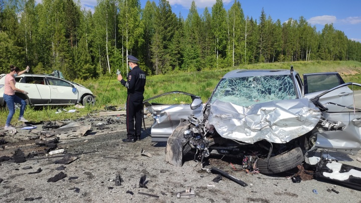 За сутки на свердловских дорогах пострадали 15 человек, четверо погибли