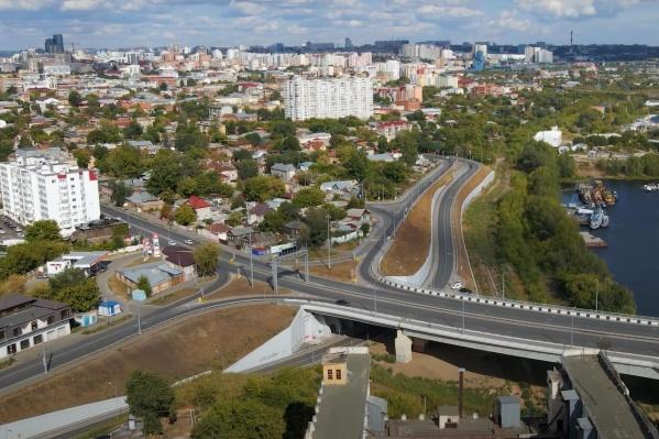 Одна из развязок расположится в районе Самарского (Фрунзенского) моста