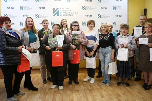 Всем участникам конкурса вручили дипломы и памятные призы от спонсора ТЦ «МебельМаркт»