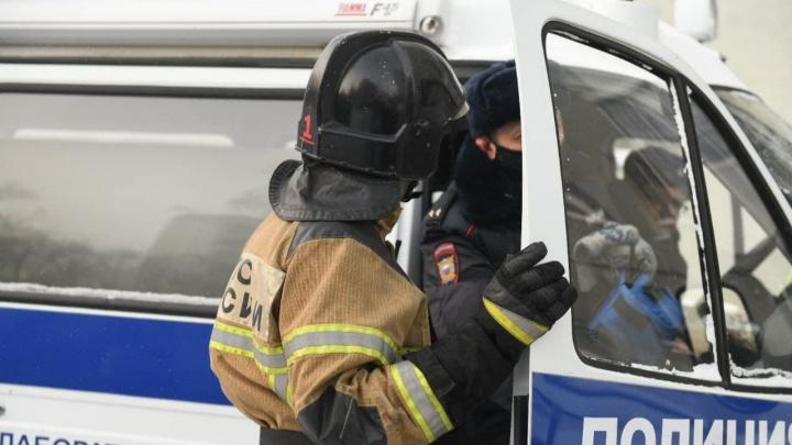 Работу спасателей во время страшного пожара на ЖБИ проверит московское начальство