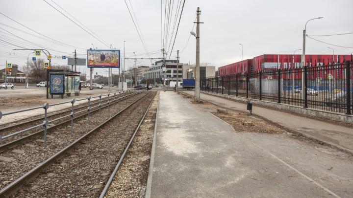 «Из соображений безопасности»: в Волгограде остановку «Мамаев Курган» превратили в бетонный плац
