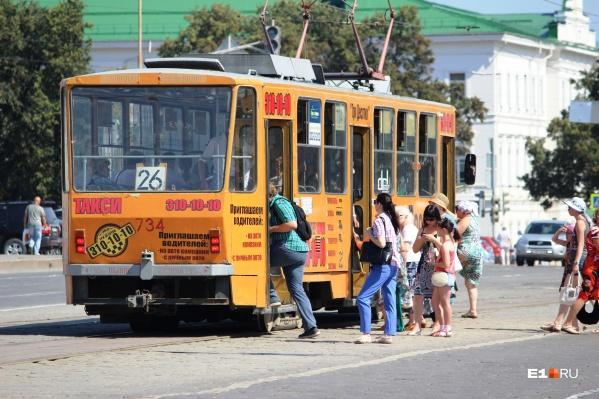 Ограничения коснутся восьми трамвайных маршрутов