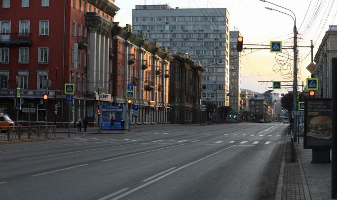 Пугающая пустота: как выглядел Красноярск год назад — в первые дни карантина