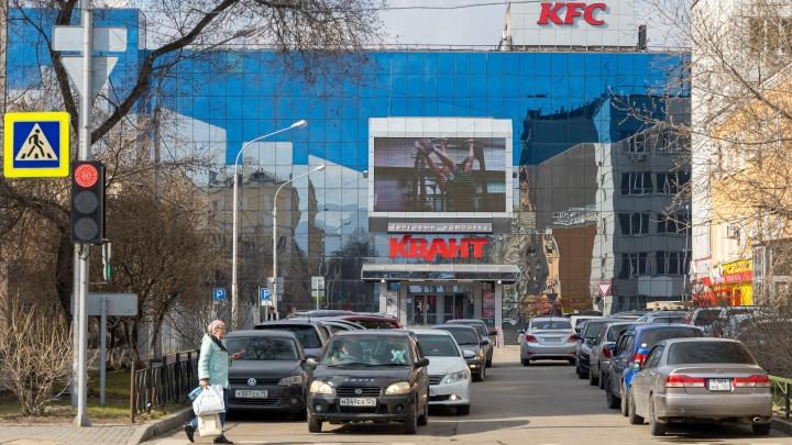 Улицу Ленина в районе «Кванта» сузят до двух полос