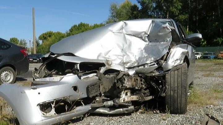 Полиция задержала молодого кузбассовца на BMW, который устроил смертельное ДТП и скрылся