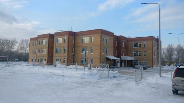 Новый детский сад в поселке Берёзовка подключили к коммунальным сетям