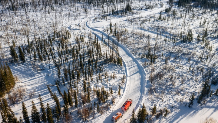 На севере Красноярского края завершили работу зимние автодороги