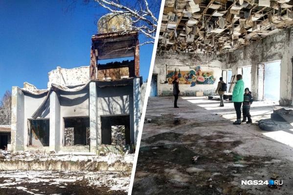 Жители Зеленогорска иногда посещают развалины ради ностальгии