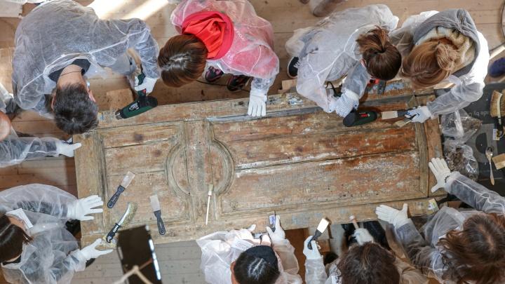 Отскрести историю: уфимцев учат дарить памятникам старины вторую жизнь