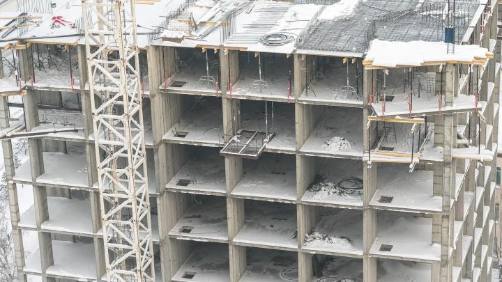 Из-за резкого скачка цен на металлоконструкции поднялась стоимость жилья в Красноярске