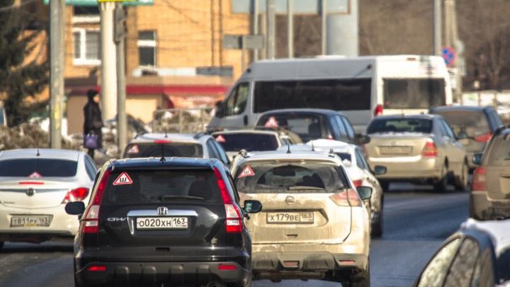 Названы самые распространенные причины ДТП в Самарской области