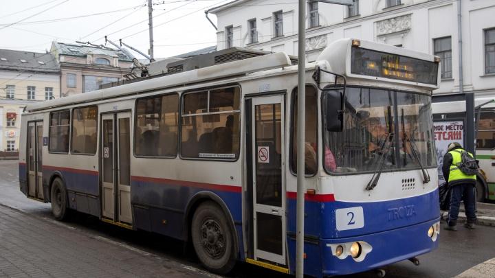 В депо на Ленинградском проспекте подготавливают цех для принятия троллейбусов
