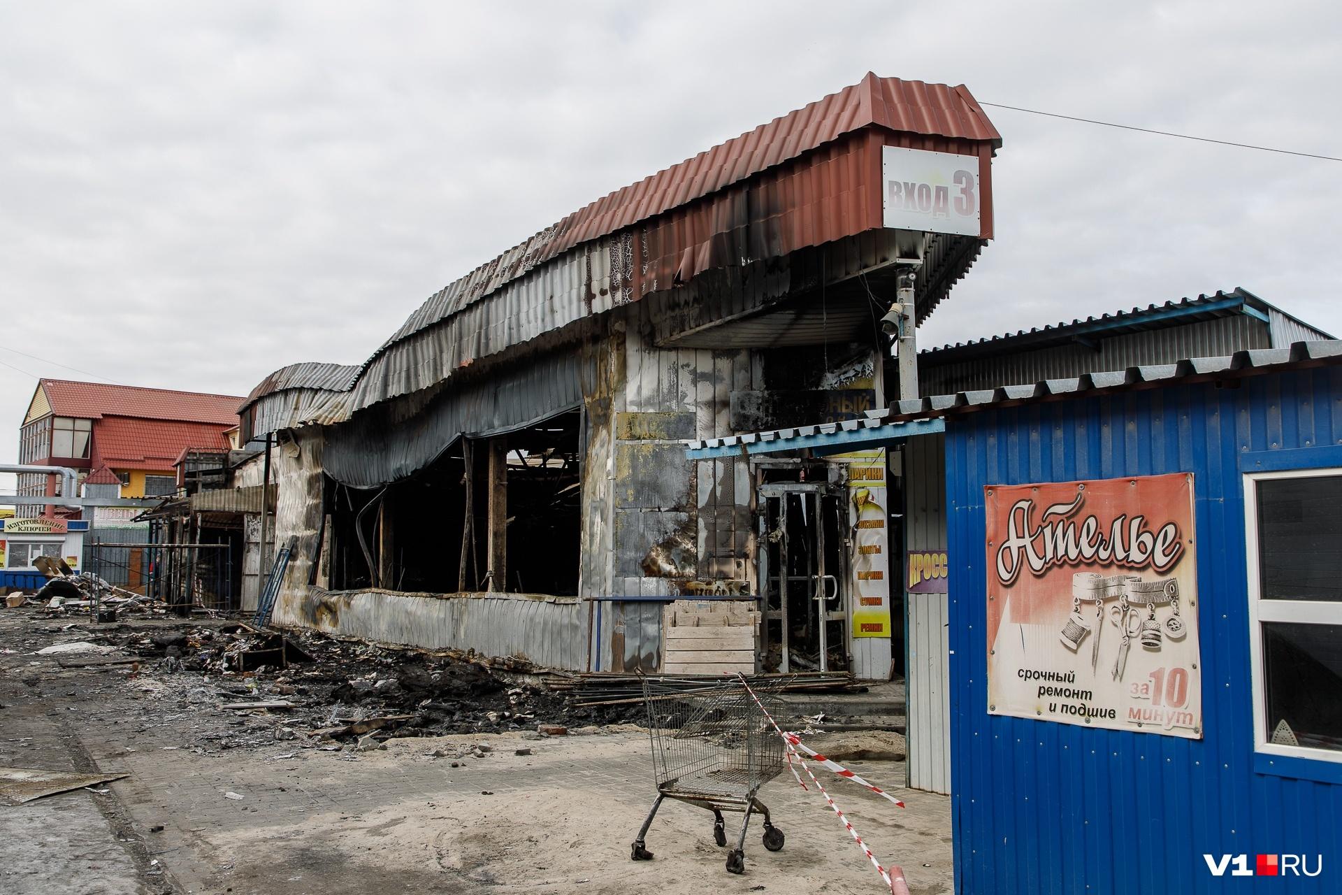 На рынке верят, что пострадавшие магазины возобновят свою работу