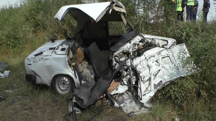 Пассажир «семерки» погиб после столкновения трех машин на Левом берегу